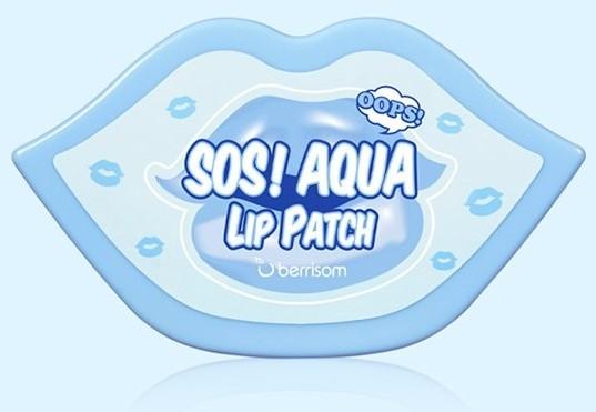 Набор гидрогелевых патчей для губ Oops SOS Berrisom (фото, вид 4)