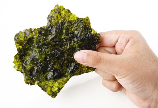 Хрустящая морская капуста со вкусом корейского Кимчи Фурми Ким (фото, вид 1)