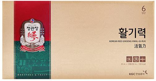 Тонизирующий напиток из корня корейского красного женьшеня Korea Ginseng Corporation (фото, вид 4)