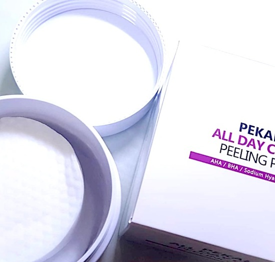 Очищающие и отшелушивающие диски с АНА и ВНА кислотами All Day Clear PEKAH (фото, вид 1)