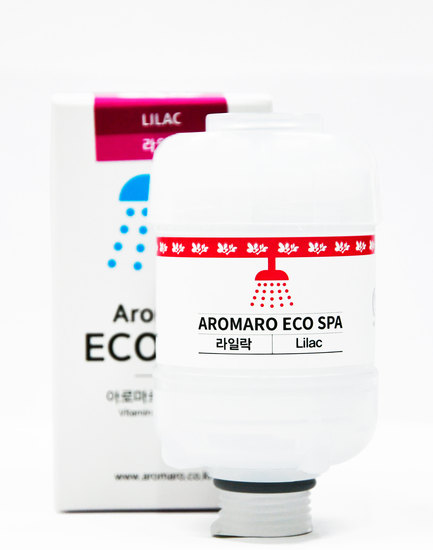 Витаминный фильтр для душа марки Aromaro Eco Spa (фото, вид 2)