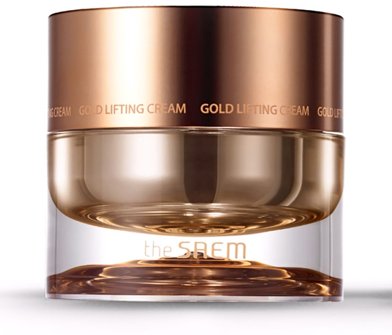Антивозрастной лифтинг-крем для лица с золотом Gold Lifting Cream The Saem (фото, вид 1)