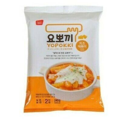 Рисовые палочки с добавлением сырного соуса Токпокки Cheese Yopokki rice cake (фото, вид 2)
