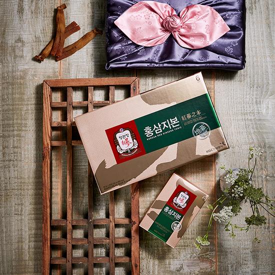 Напиток тоник из корня 6-ти летнего корейского красного женьшеня и оленьего рога Хон Сам Ди Бон Korea Ginseng Corporation (фото, Напиток тоник из корейского красного женьшеня)