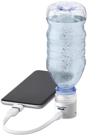 Портативный генератор водородной воды накручивающийся на бутылку Solco SHG-304 (фото, вид 3)
