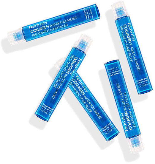 Увлажняющий филлер для волос с коллагеном Collagen Water Full Moist Treatment Hair Filler FarmStay (фото, вид 1)