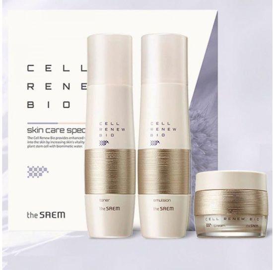 Премиальный набор уходовый антивозрастной Cell Renew Bio Skin Care Special 2 Set N The Saem (фото, вид 2)