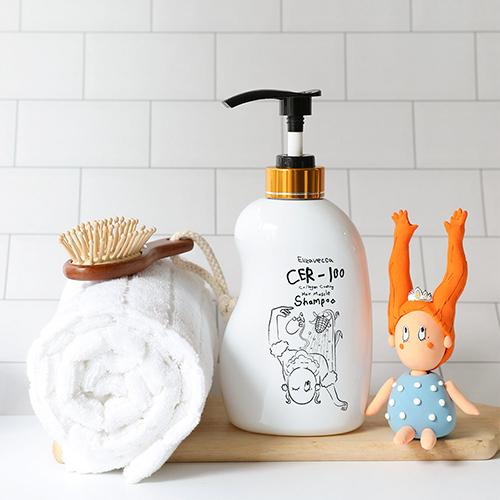 Восстанавливающий шампунь для волос CER-100 Collagen Coating Hair Muscle Shampoo Elizavecca (фото, вид 1)