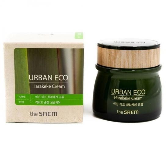 Питательный крем для лица с экстрактом новозеландского льна Urban Eco Harakeke Cream The Saem (фото, вид 1)