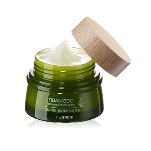 Освежающий крем для лица с экстрактом новозеландского льна Urban Eco Harakeke Fresh Cream The Saem (фото, вид 1)