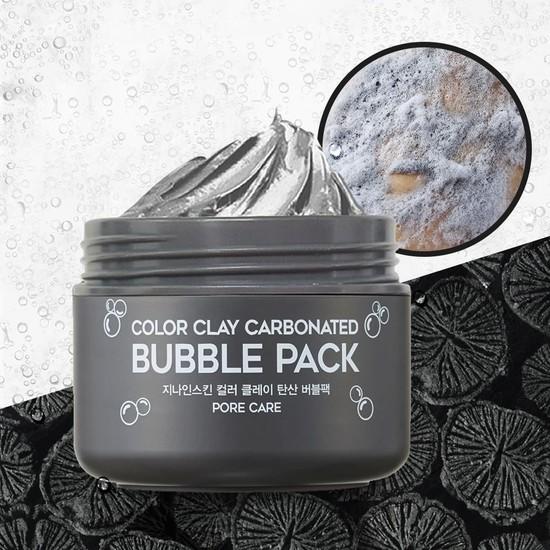 Глиняная пузырьковая маска для лица Color Clay Carbonated Bubble Pack G9SKIN (фото, вид 1)