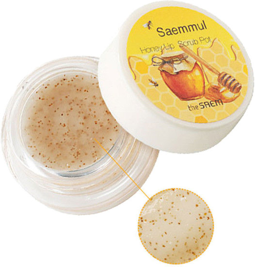 Медовый скраб для губ Saemmul Honey Lip Scrub The Saem (фото, вид 1)
