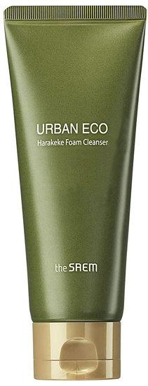 Пенка для умывания с экстрактом новозеландского льна Urban Eco Harakeke Foam Cleanser The Saem (фото, вид 1)