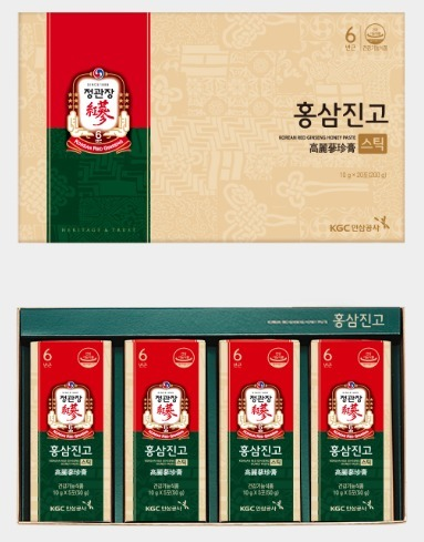 Сироп из корня корейского красного женьшеня с медом в стиках Cheong Kwan Jang Korea Ginseng Corporation (фото, вид 1)