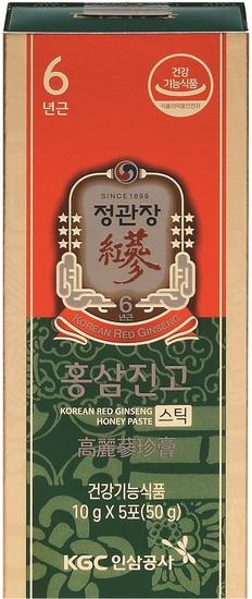 Сироп из корня корейского красного женьшеня с медом в стиках Cheong Kwan Jang Korea Ginseng Corporation (фото, вид 2)