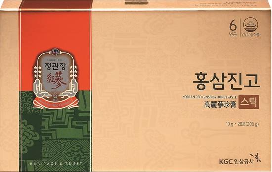 Сироп из корня корейского красного женьшеня с медом в стиках Cheong Kwan Jang Korea Ginseng Corporation (фото, вид 3)