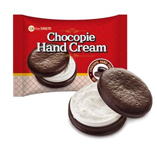 Крем для рук чокопай Chocopie Hand Cream The Saem (фото, вид 1)