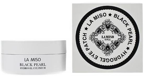 Гидрогелевые патчи для глаз с черным жемчугом La Miso (фото, вид 2)