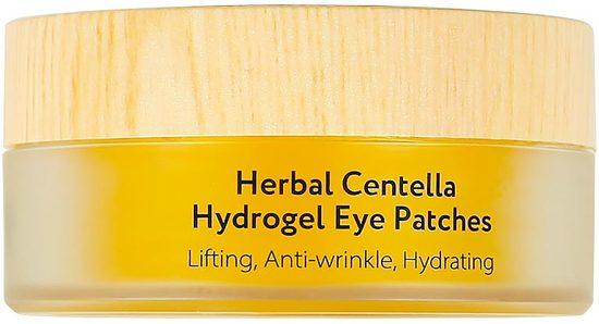 Гидрогелевые патчи для глаз с центеллой азиатской Herbal Centella Asiatica Eye Patches L'Sanic (фото, вид 1)