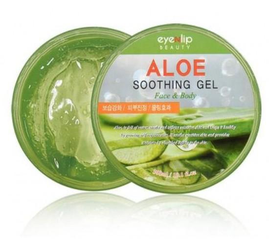 Многофункциональный гель для лица и тела с алоэ вера Aloe Soothing Gel Eyenlip (фото, вид 1)