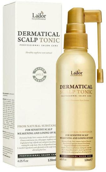 Укрепляющий тоник для волос и кожи головы Dermatical Scalp Tonic Lador (фото, вид 1)