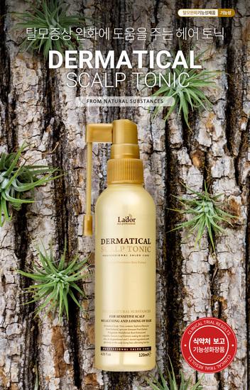 Укрепляющий тоник для волос и кожи головы Dermatical Scalp Tonic Lador (фото, вид 2)