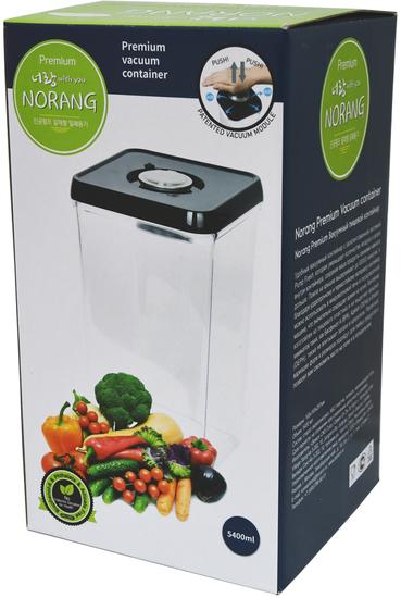 Вакуумный пищевой контейнер Norang Premium 5400 мл (фото, вид 3)
