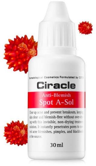 Точечное средство от акне и воспалений Anti-Blemish Spot A-Sol Ciracle (фото, вид 1)