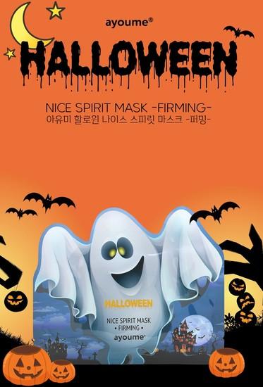 Восстанавливающая тканевая маска для лица Halloween Nice Spirit Mask Firming Ayoume (фото, вид 1)