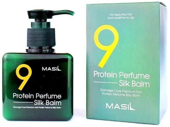 Несмываемый парфюмированный бальзам для волос с протеинами Protein Perfume Silk Balm Masil (фото, вид 2)