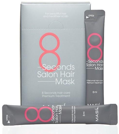 Маска для быстрого восстановления волос в саше 8 Seconds Salon Hair Mask Masil (фото, вид 2)