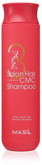 Восстанавливающий шампунь с кератином и аминокислотами 3 Salon Hair CMC Shampoo Masil (фото, вид 1)