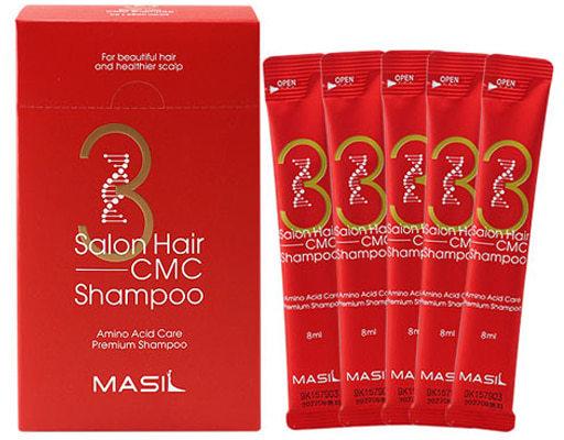 Восстанавливающий шампунь с аминокислотами в саше 3 Salon Hair CMC Shampoo Masil (фото, вид 1)