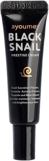 Крем для лица c муцином черной улитки Black Snail Prestige Cream Ayoume (фото, вид 1)