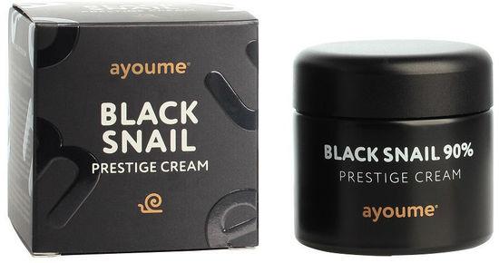 Крем для лица c муцином черной улитки Black Snail Prestige Cream Ayoume (фото, вид 2)