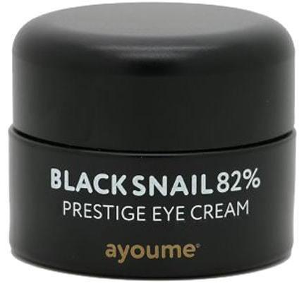 Крем для глаз муцином черной улитки Black Snail Prestige Eye Cream Ayoume (фото, вид 1)