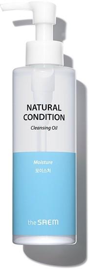 Гидрофильное масло для лица Natural Condition Cleansing Oil The Saem (фото, вид 1)