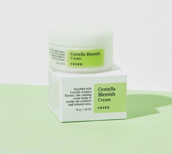 Заживляющий крем для лица с центеллой азиатской Centella Blemish Cream COSRX (фото, вид 1)