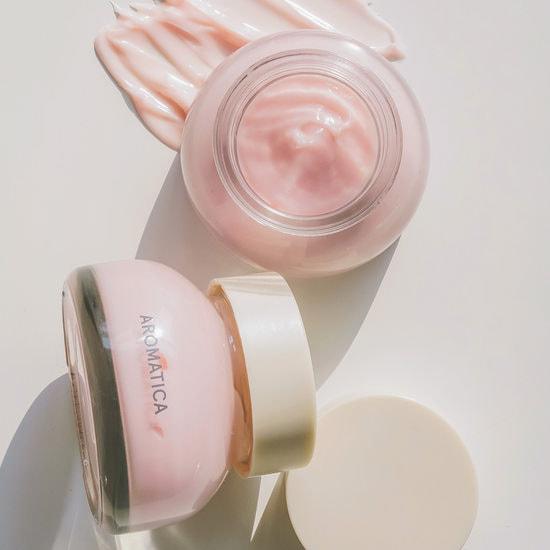 Омолаживающий крем для лица с экстрактом дамасской розы Reviving Rose Infusion Cream Aromatica (фото, вид 1)