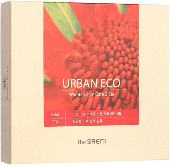 Набор уходовый с экстрактом телопеи Urban Eco Waratah Skin Care 2 Set The Saem (фото, вид 2)