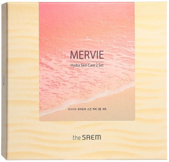 Уходовый набор для лица интенсивно увлажняющий Mervie Hydra Skin Care 2 Set The Saem (фото, вид 1)
