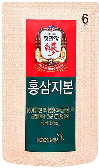 Напиток тоник из корня 6-ти летнего корейского красного женьшеня и оленьего рога Хон Сам Ди Бон Korea Ginseng Corporation (фото, вид 3)