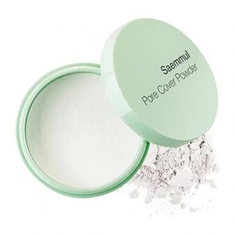 Рассыпчатая пудра для маскировки пор и выравнивания рельефа кожи Saemmul Perfect Pore Powder The Saem (фото, The Saem Saemmul Perfect Pore Powder)