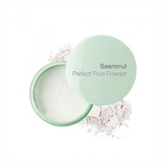 Рассыпчатая пудра для маскировки пор и выравнивания рельефа кожи Saemmul Perfect Pore Powder The Saem (фото, Рассыпчатая пудра для маскировки пор The Saem)