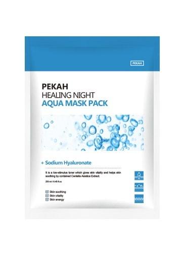 Вечерняя восстанавливающая увлажняющая маска Healing Night Aqua Mask Pack Pekah (фото, вид 1)