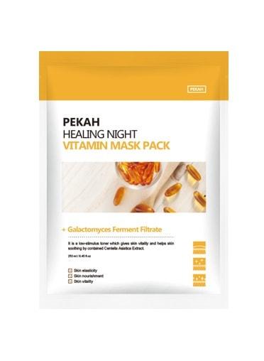 Вечерняя восстанавливающая витаминная маска Healing night vitamin mask pack Pekah (фото, вид 1)