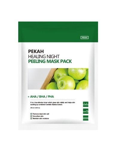 Вечерняя восстанавливающая отшелушивающая маска Healing Night Peeling Mask Pack Pekah (фото, Pekah Healing Night Peeling Mask Pack)