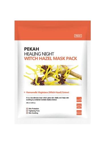 Вечерняя восстанавливающая маска с экстрактом гамамелиса Healing Night Witch Hazel Mask Pack Pekah (фото, Pekah Healing Night Witch Hazel Mask Pack)