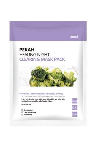 Вечерняя восстанавливающая очищающая маска Healing Night Clearing Mask Pack Pekah (фото, вид 1)