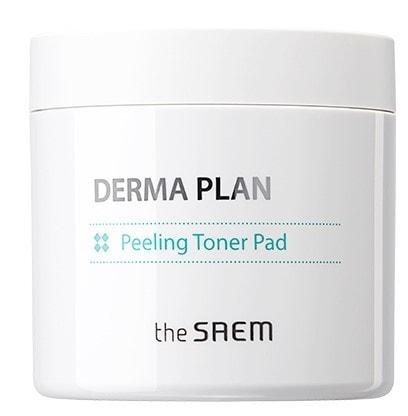 Тонизирующие пилинг диски Derma Plan Peeling Toner Pad The Saem (фото, вид 1)